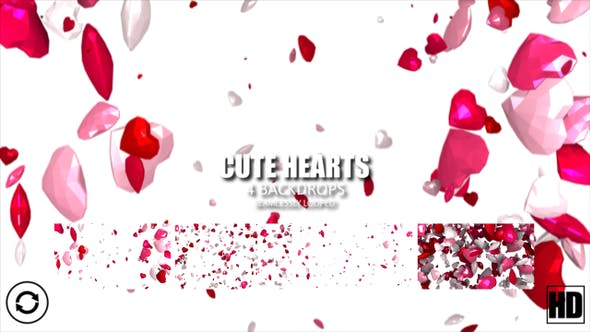 Thumbnail for Cute Hearts Hd
