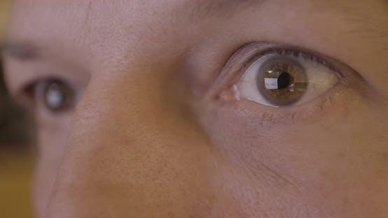 Thumbnail for Google Logo Reflection in Male Caucasian Eye