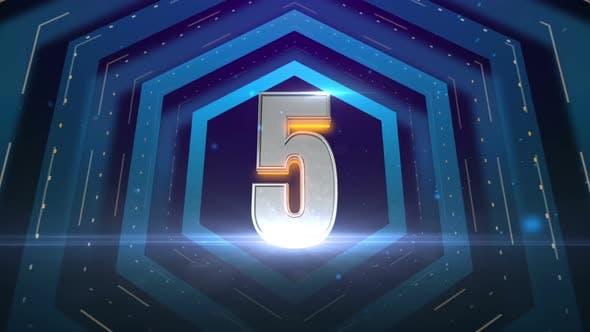 Thumbnail for Hexagon Countdown