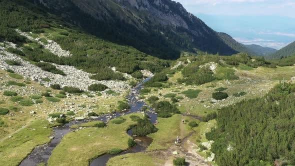 Thumbnail for Aerial View Above Pirin Mountain