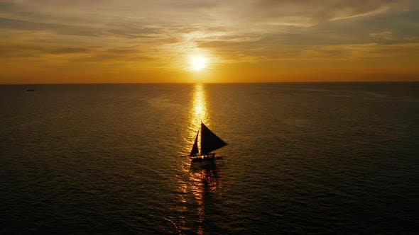 Thumbnail for Sunset Over the Sea. Boracay, Philippines