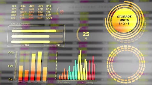 Stock Marketing and Company Data in Financial HUD