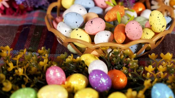 Thumbnail for Colorful Traditional Celebration Easter Paschal Eggs 24