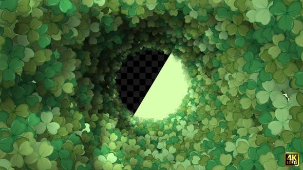 Thumbnail for St Patrick's Day Clover Leaf Background