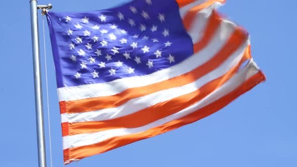 Thumbnail for USA-Flagge lang