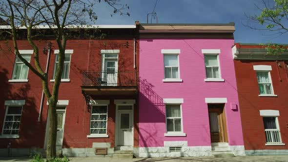 Thumbnail for Colorful houses in Montreal