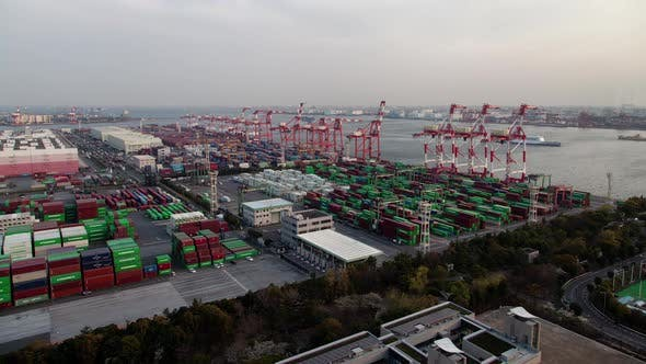 Thumbnail for Tokyo Container Terminal Facility Dockland Area