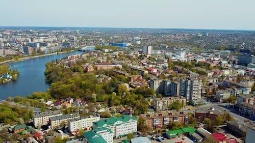 City Bird Eye View