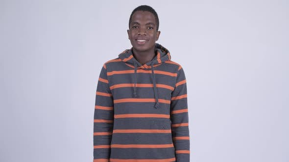 Cover Image for Young Happy African Man Smiling