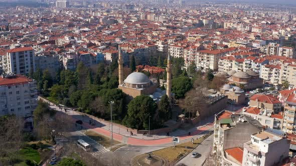 Thumbnail for Mosque And City Aerial View 6