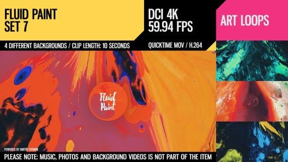 Fluid Paint (4K Set 7)