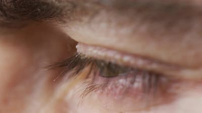 Extreme close up of an eye