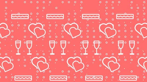 Valentine's Loop Background
