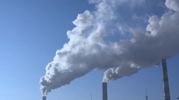 Cover Image for Air Environment Pollution Industrial Scene