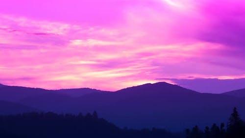 HDR Mountain Landscape