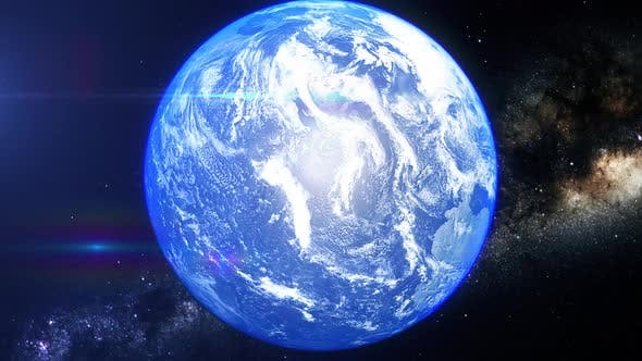 Thumbnail for Realistic Earth Zoom Arctic Ocean