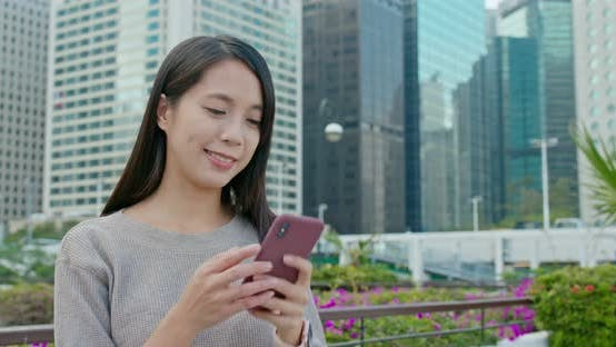 Thumbnail for Woman use of mobile phone
