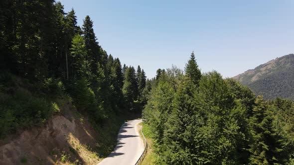 Thumbnail for Aerial View of Asphalt Road