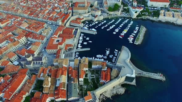 Thumbnail for old port site of Dubrovnik in Croatia