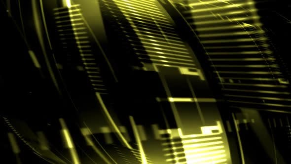 Thumbnail for Abstract Grid Streaks Yellow