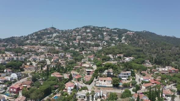 Thumbnail for Drone Flight Over Small Resort Town Lloret De Mar