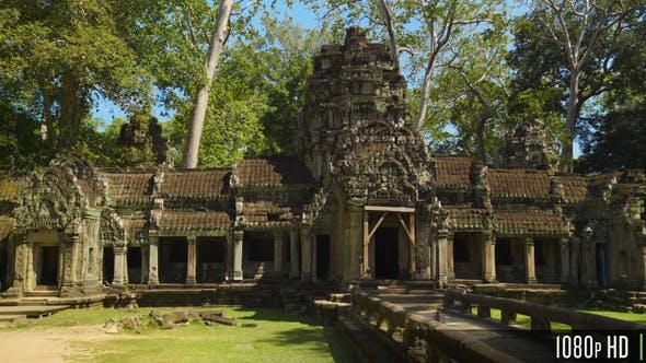 Thumbnail for Entrance to Ta Prohm Temple, Siem Reap, Cambodia
