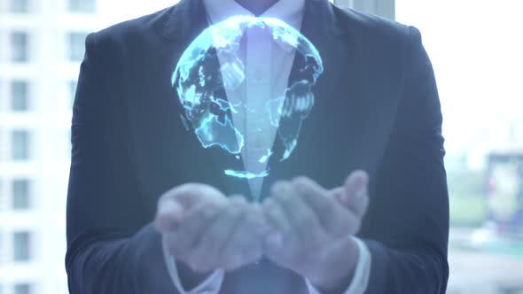 Thumbnail for Businessman Presentation