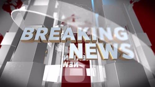 Breaking News Background (Seamless loop)