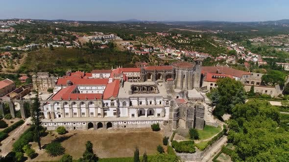 Thumbnail for Convent of Christ Aerial Footage, Portugal