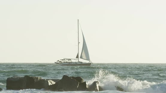Thumbnail for Sailboat on the sea