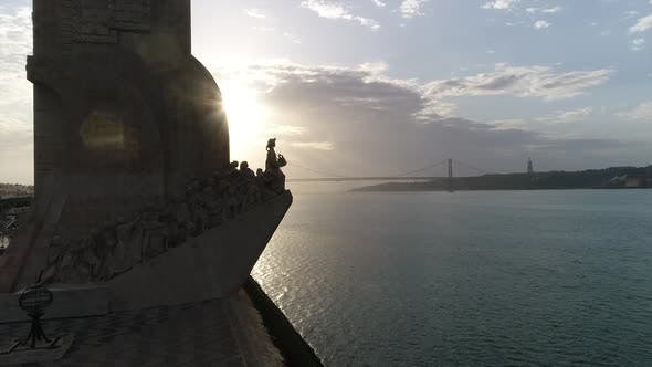 Standard of Discovery in Lisbon at Sunrise