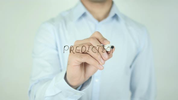 Thumbnail for Prediction, Writing On Screen