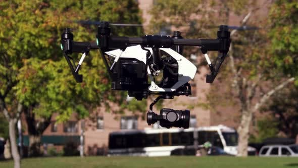Thumbnail for Drone With Camera Taking Off 01
