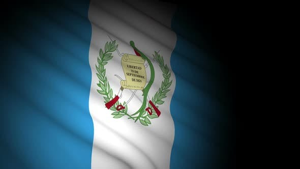Thumbnail for Guatemala Flag Blowing in Wind