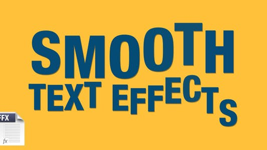 Smooth Text Effects