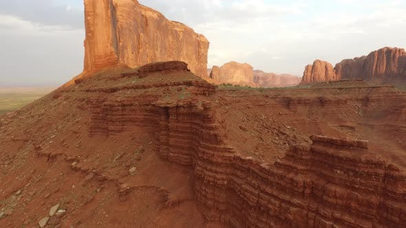 Thumbnail for Aerial shot of Monument Valley