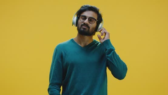 Thumbnail for Young Man Listening Music