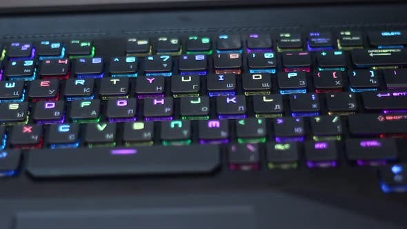 Thumbnail for Modern Keyboard With Backlight