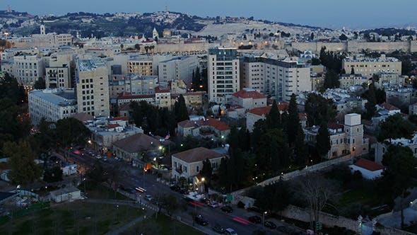 Thumbnail for Dusk to Night Time Lapse, Jerusalem