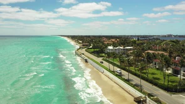 Thumbnail for Severe beach erosion West Palm Beach FL