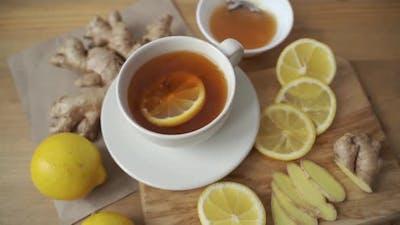 Preparation of Ginger Tea