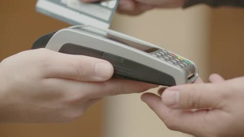 Electronic Payment with Bank Card