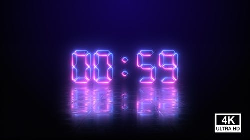 Last Minute Digital Countdown Of The Year 2021