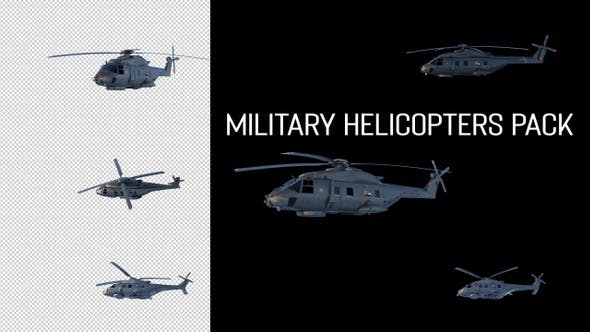 Thumbnail for Military Helicopters Pack