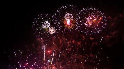 Feuerwerk Karneval