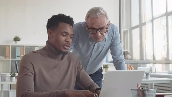 Afro-American Associate Giving Boss Update on Work