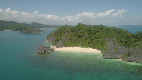 Thumbnail for Seascape of Caramoan Islands, Camarines Sur, Philippines.