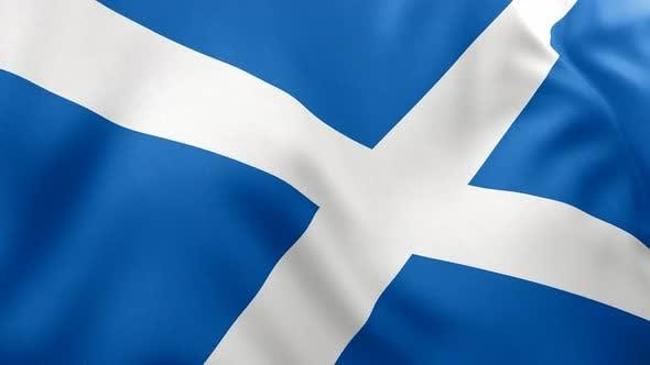 Thumbnail for Scotland Flag - 4K