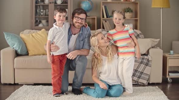 Thumbnail for Posing for Family Video