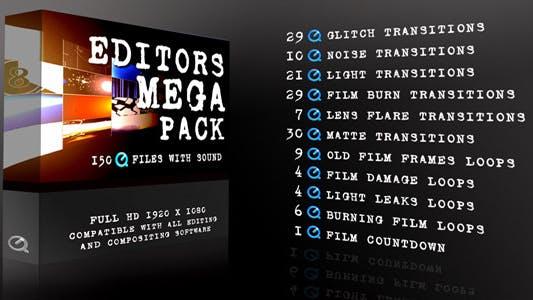 Thumbnail for Editors Mega Pack